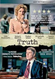 Newsroom drama detailing the 2004 CBS 60 Minutes report investigating then-President George W. Bush's military service, and the ensuing firestorm of criticism that cost anchor Dan Rather and producer Mary Mapes their careers.  Released 2/6/16  (125 min)