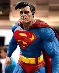 ArtStation - Superman - The Dark Knight Returns, Fabricio Torres Dc Comics, Action Comics 1, Batman Vs Superman, Superman Stuff, Marvel Statues, Dark Knight Returns, Clark Kent, Book Tv, Man Of Steel