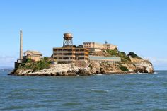 """Alcatraz Island - Featured on RueBaRue.  s home to notorious criminals like Al Capone and James """"Whitey"""" Bulger, Alcatraz Island, just a mile and a half from San Francisco, is closely associated with the infamous maximum security penitentiary it housed for 29 years."""