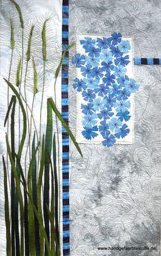 handgefärbter Art Quilt
