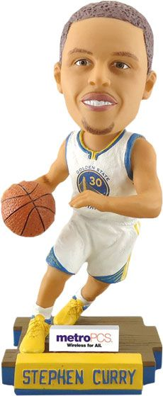 This Steph Curry bobblehead is adorable. #DubNation