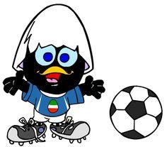 Images caliméro joue au foot
