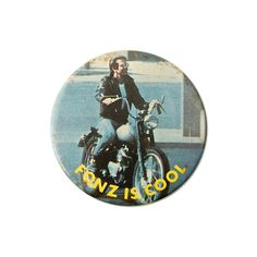 1970s 'Fonz is Cool' Badge
