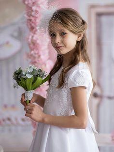 0809f50cac Sukienka Komunijna KALA roz 140 cm NOWA z salonu