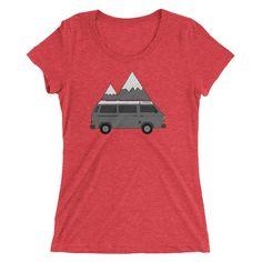 Adventure Mobile - Van Life - Women's Tee