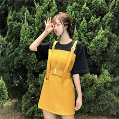 Ulzzang Fashion, Ulzzang Girl, Asian Fashion, Cute Korean Girl, Asian Girl, Overalls Outfit, Romantic Girl, Fashion Photography Poses, Shops