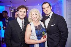 Handsome boys!  Henry Cavill and @samclaflin at last night's @BAFTA Film Gala! #HenryCavill #SamClaflin