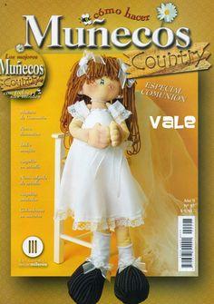 como hacer muñeca de tela primera comunion