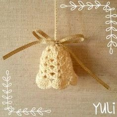 Crochet Bell tutorial