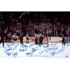 1994 New York Rangers Team Signed Victory On Ice 16x24 Photo (19 Sigs)