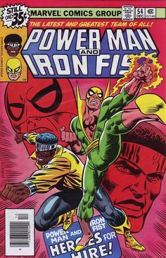 power man and iron fist comics | ... Comic Collector Connect » Comic Database » Power Man And Iron Fist