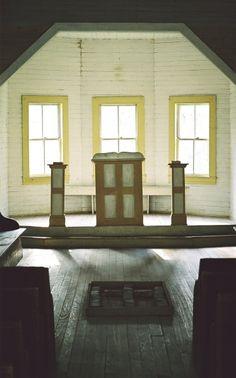 Church in Cades Cove, Tennessee