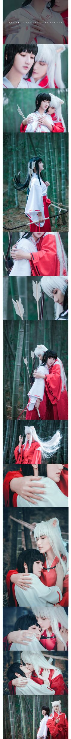 Omg did they finally find someone who actually pulls off the inuyasha cosplay?