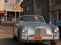 """1953 Aston Martin convertible (from """"The Birds"""")"""