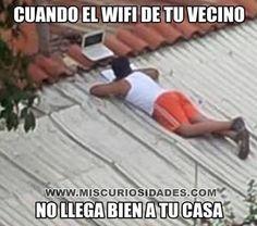 Memes para facebook: Robando el wifi del vecino → #memesdivertidos…
