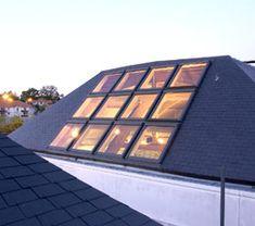 connaitre - pente - ouverture de toit