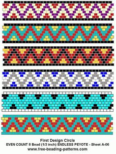free-peyote-bead-pattern-A-06: