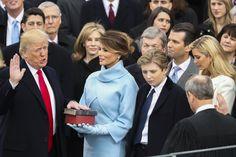 20.1. US Präsident Trump legt den Amtseid ab...