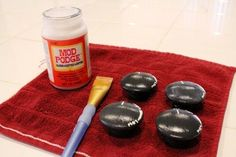 DIY Play Kitchen Stove Top Knobs