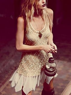 Golden Enchantment Dress. http://www.freepeople.com/whats-new/golden-enchantment-dress/