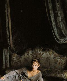 Jamie Rishar by Arthur Elgort for Vogue Italia October 1993