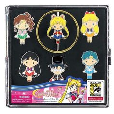 Oh no! More exclusive #SDCC items. This time its the #Monogram Pin set of Sailor Moon Tuxedo Mask and the inner senshi. I absolutely want these! What would you decorate with enamel #pins?  #sailormoon #セーラームーン #美少女戦士セーラームー #bishoujosenshisailormoon #sailorscouts #sailormoonfigures #sailormooncollector #sailormoontoys #sailormooncollectibles #sailormoonfan #moonie #moonies #sailormooncrystal  #sailormoonmerchandise #sailormoonfans  #sailormoon20thanniversary #enamelpins #sailormooncollectible…