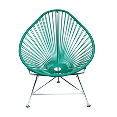 Cancun Chair in Turquoise - Dot & Bo