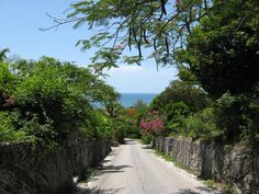 Street in Governors Harbour Eleuthera Bahamas, love this place - love this pic! www.eleutheravacationrentals.net
