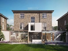 Architecture for London has won planning for this house extension and refurbishment in Dartmouth Park, north London Dartmouth House, Dartmouth Park, Architect Design House, House Design, House Extension Cost, Rear Extension, Residential Architecture, Interior Architecture, London Property