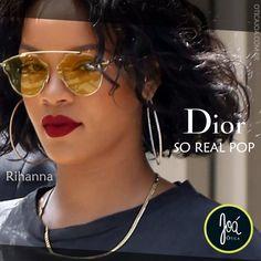 e5343b726 Os óculos de sol Dior - So Real - Pop, reinterpretam o modelo indispensável  da