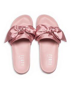 Fenty Puma x Rihanna Women s Satin Bandana Pool Slide Sandals 182c97d14