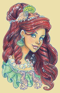 Ariel by ~DoodleLust on deviantART