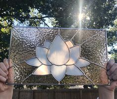Lotus Stained Glass panel Stained Glass Paint, Stained Glass Flowers, Stained Glass Crafts, Stained Glass Designs, Stained Glass Patterns, Stained Glass Windows, Victorian Stained Glass Panels, Glass Wall Art, Glass Texture