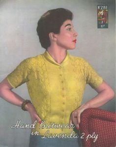 Knitting Patterns, Crochet Patterns, Cardigans For Women, Women's Cardigans, 2 Ply, Vintage Knitting, Vintage Sweaters, Vintage Patterns, Vintage Ladies