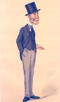 VANITY FAIR SPY CARTOON. Marcus Beresford 'Southwark'. London. By Spy. 1876
