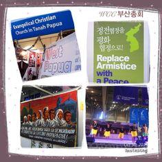 생명과 정의, 평화를 위한 세계교회(WCC)의 모습. 부산에서 열린 세계총회.
