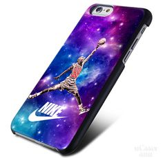 Nike Nebula Jordan Bulls 1 iPhone Cases Case