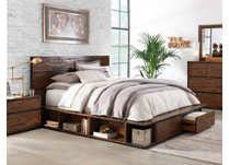 Brisbane King Storage Bed