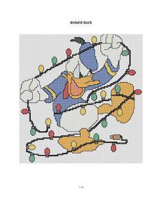 cross stitch fan: new free Christmas cross stitch pattern Disney