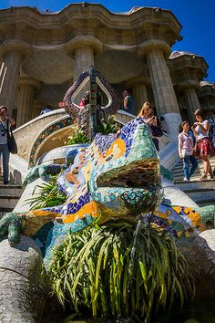Parc Guell - Barcelona, Spain. Europe is simply amazing.