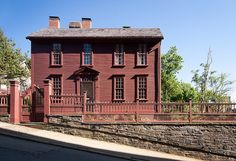 Stephen Hopkins House, Providence #VisitRhodeIsland  Home of Colonial governor and signer of the Declaration of Independence