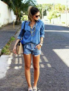 Sokak modası: Jean on Jean