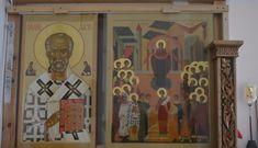 Иконостас в Решетниково. — Православные иконы
