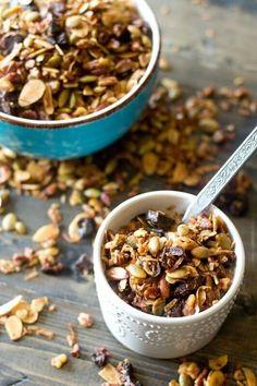 Paleo Granola Recipe - Tastes of Lizzy T