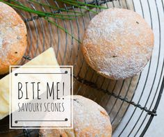 Savoury Chive and Cheese Scones