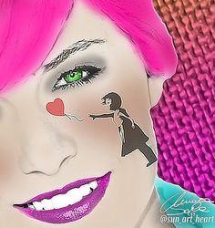 Pink Bansky 2 #banksy #sun_art_heart #portrait #instaart #artwork #myart #contemporaryart #artistic #doodle #sketch #art #sketchbook #abstract #abstractart #abstracters_anonymous #abstract_buff #modernart #geometric #abstraction #design #uranart #artist #colorful #fineart #digitalart #illustration