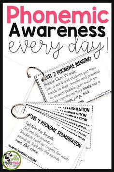 Phonemic Awareness Every Day