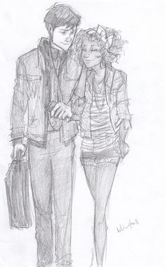 simonandalisha:    clarissasucks:    Simon and Alisha by burdge-bug    how cute!    c: