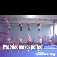 "Sometimes I miss cheer. And then I see crap like this and I'm like, ""OH DEAR LORD, no thanks."""