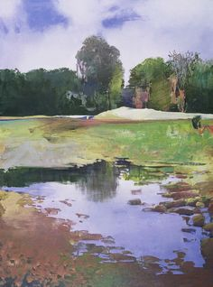 Painter's Process - Randall David Tipton: The Flooded Field
